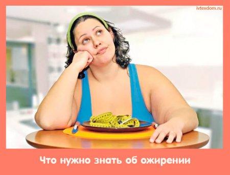 Что нужно знать об ожирении