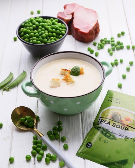 Готовим ароматный гороховый суп-пюре с копченостями: самый быстрый рецепт
